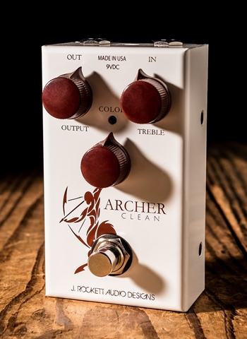 Rockett ARCHER Clean Overdrive/Boost Pedal