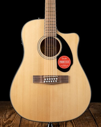 Fender CD-60SCE Dreadnought 12-String - Natural