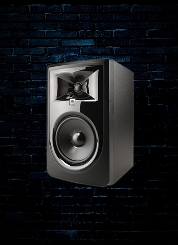 "JBL 306P MkII - 112 Watt 1x6"" Powered Studio Monitor - Black"