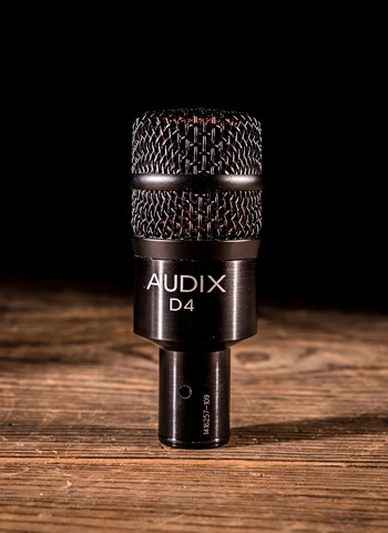 Audix D4 Dynamic Instrument Microphone *USED*