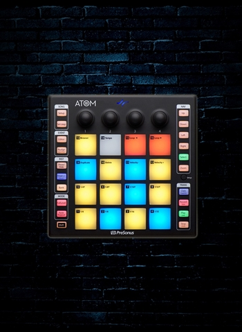 PreSonus ATOM 16 Pad Production and Performance Controller