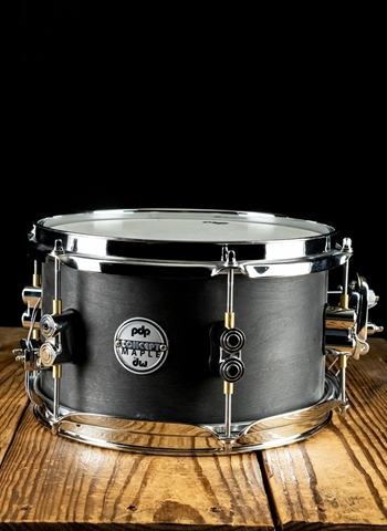 "PDP PDSN0610BWCR - 6""x10"" Concept Maple Snare Drums - Black Wax"