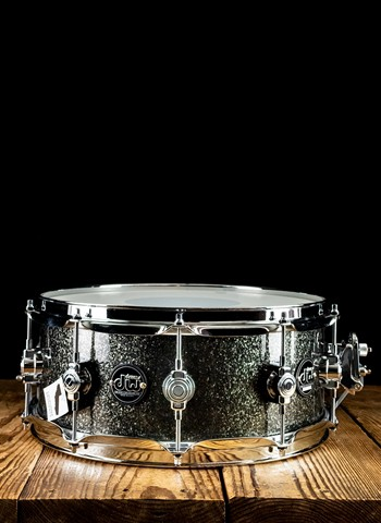 "DW 5.5""x14"" Performance Series Snare Drum - Pewter Sparkle"