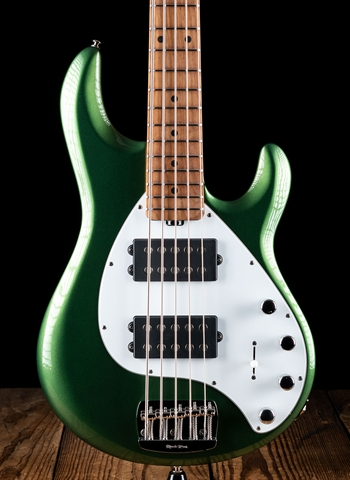 Music Man StingRay5 Special HH - Charging Green