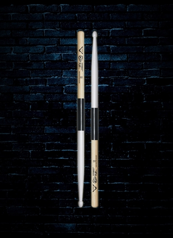 Vater VEP5BW Extended Play Series 5B Hickory Wood Tip Drumsticks