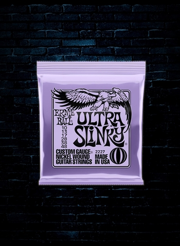 Ernie Ball 2227 Nickelwound Electric Strings - Ultra Slinky (10-48)
