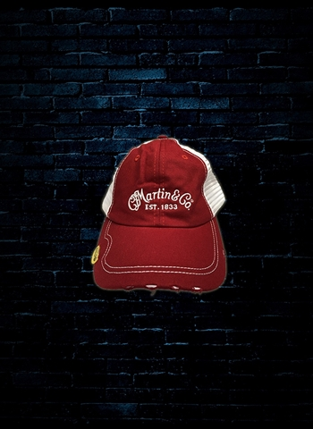 Martin Pick Hat - Red