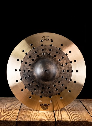 "Sabian 18"" Custom Shop HHX Duo Crash"