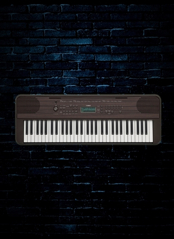 Yamaha PSR-E360 - 61-Key Portable Keyboard - Dark Walnut