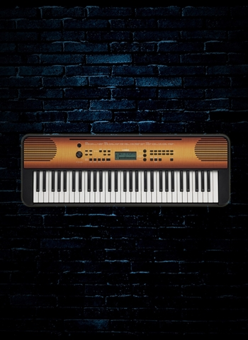 Yamaha PSR-E360 - 61-Key Portable Keyboard - Maple