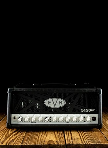 EVH 5150III 50 Watt 6L6 Guitar Head - Black