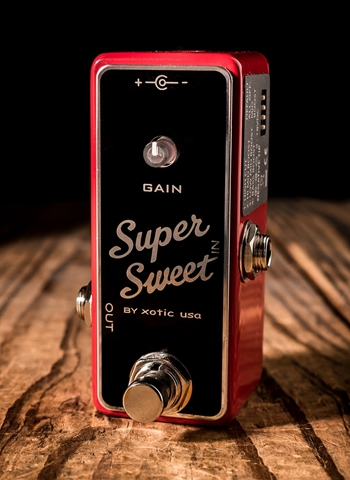 Xotic Super Sweet Boost Pedal