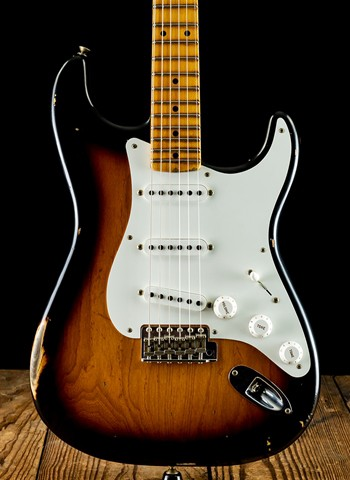 Fender Custom Shop 1955 Relic Stratocaster - 2-Color Sunburst