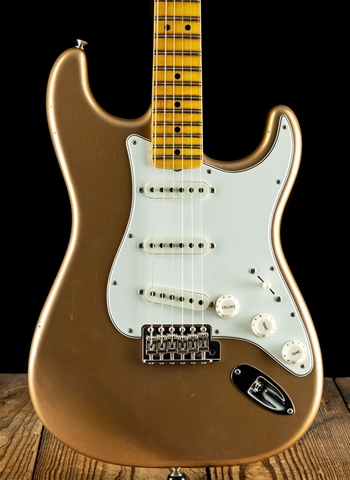 Fender Custom Shop 1965 Journeyman Relic Stratocaster - Faded Aged Firemist Gold