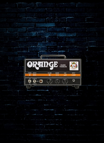 Orange Dark Terror - 15 Watt Guitar Head - Black