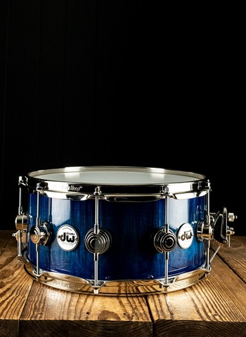 "DW 6.5""x14"" Collector's Series Exotic SD Snare Drum - Violet Blue Burst"