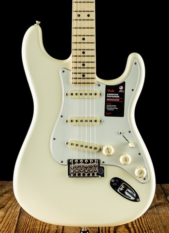 Fender 2019 Channel Exclusive American Performer Stratocaster - Olympic White