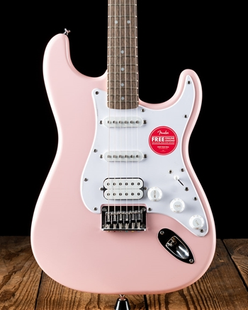 Squier Bullet Stratocaster HT HSS - Shell Pink