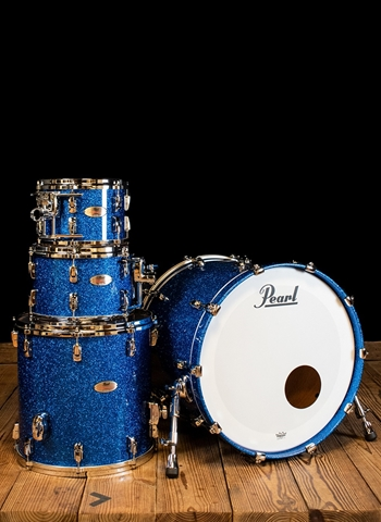 Pearl RF924XEDP/C - 4-Piece Reference Series Drum Set - Sapphire Blue Sparkle