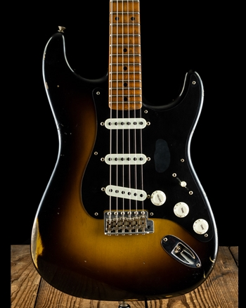 Fender Limited Edition 1955 Roasted Dual-Mag Relic Stratocaster - Wide Fade 2-Tone Sunburst
