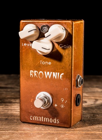 CMAT Mods Brownie Distortion Pedal *USED*