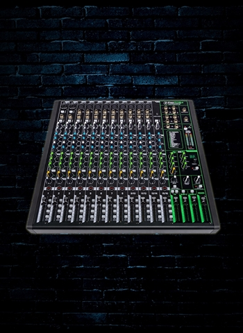 Mackie ProFX16v3 16-Channel Effects Mixer w/USB