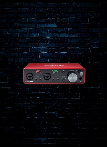 Focusrite Scarlett 2i2 - 2.0 USB Audio Interface (2nd Gen)