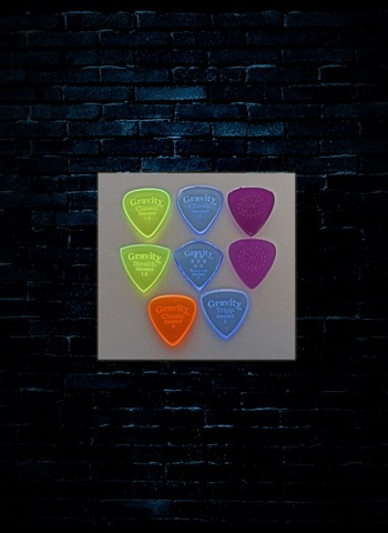 Gravity Assorted Guitar Pick Variety Pack (8-Pack)
