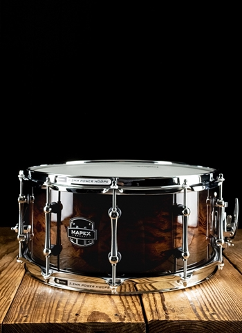 "Mapex ARBW4650RCTK - 6.5""x14"" Black Panther Heartbreaker Snare Drum"