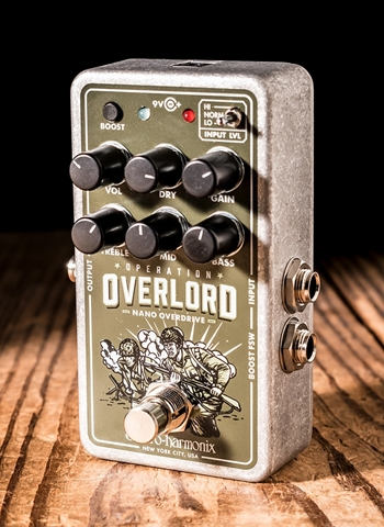 Electro-Harmonix Nano Operation Overlord Allied Overdrive Pedal