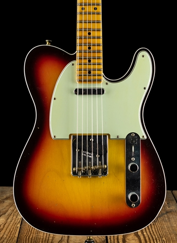 Fender Postmodern Journeyman Relic Telecaster - Chocolate 3-Color Sunburst
