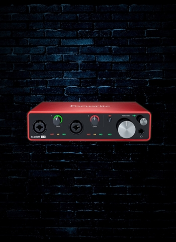 Focusrite Scarlett 18i8 - 2.0 USB Audio Interface (2nd Gen)