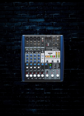 PreSonus StudioLive AR8c - 8-Channel USB-C Analog Recording Mixer & Audio Interface