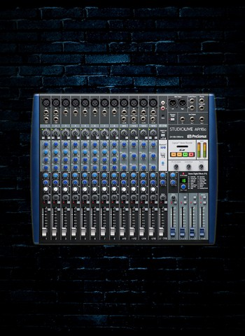 PreSonus StudioLive AR16c - 16-Channel USB-C Analog Recording Mixer & Audio Interface