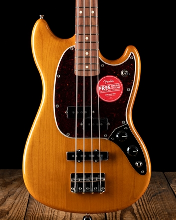 Fender Player Mustang Bass PJ - Aged Natural