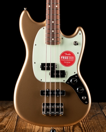 Fender Player Mustang Bass PJ - Firemist Gold