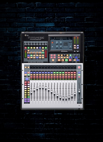 PreSonus StudioLive 32SC - 32-Channel Digital Mixer & USB Audio Interface