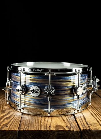 "DW 6""x14"" Collectors Series Snare Drum - Peacock Oyster"
