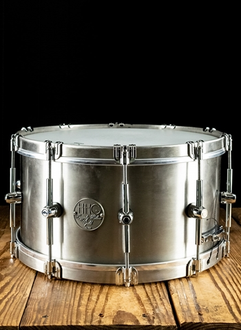 "HHG 8""x14"" Stainless Steel Snare Drum"