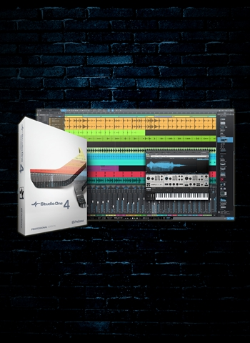 PreSonus Studio One 4 Professional Recording Software (Download)