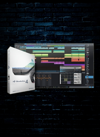 PreSonus Studio One 4 Artist Upgrade from Earlier Versions (Download)