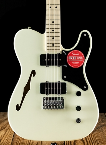 Squier Paranormal Cabronita Telecaster Thinline - Olympic White