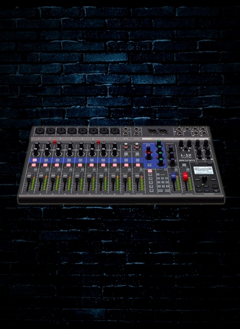 Zoom LiveTrak L-12 - 12-Channel Digital Mixer