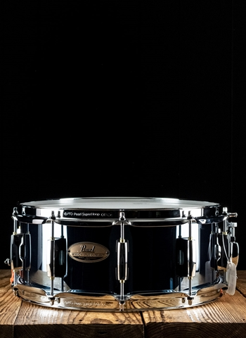 Pearl 5.5x14 Session Studio Select Snare Drum - Black Mirror Chrome