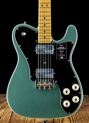 Fender American Professional II Deluxe Telecaster - Mystic Surf Green