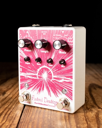 EarthQuaker Devices Astral Destiny Octave Reverb Pedal