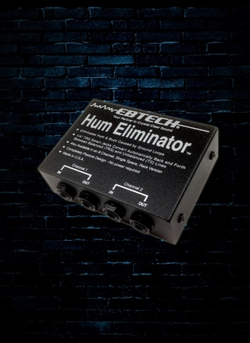 Ebtech HE-2 - 2-Channel Hum Eliminator