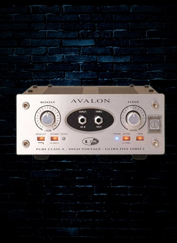 Avalon U5 Mono Instrument DI Preamp