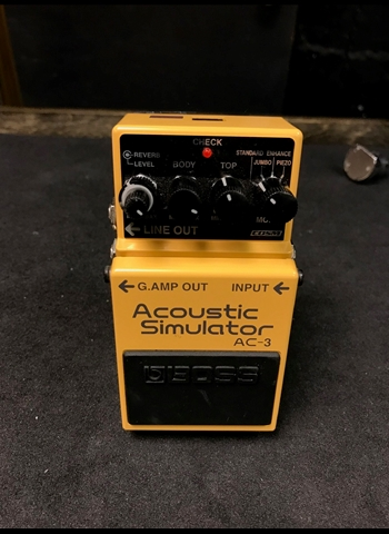 BOSS AC-3 Acoustic Simulator Pedal *USED*