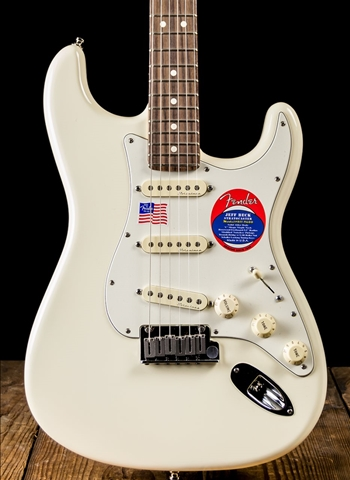 Fender Jeff Beck Stratocaster - Olympic White